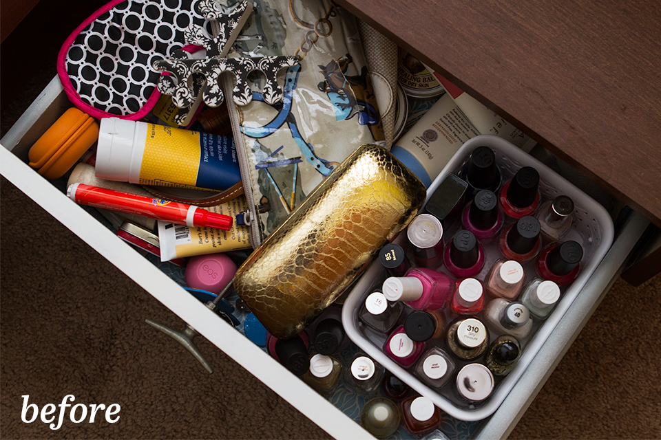 Get rid of the junk in your nightstand with these simple organization tips