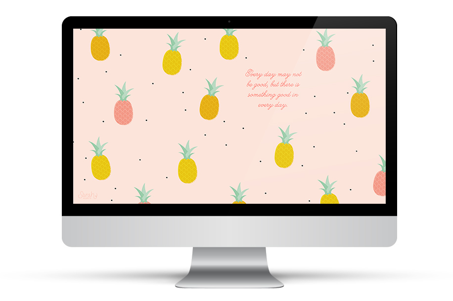Make your desktop a bit more fun with this inspirational quote wallpaper. Also available in iPhone and iPad sizes.