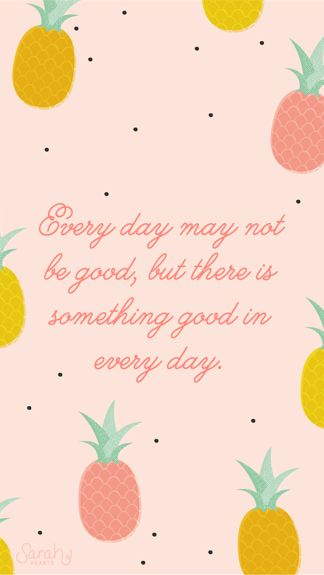 Be A Pineapple Quote Wallpaper August 2014 Pineapple Calendar Wallpaper Sarah Hearts