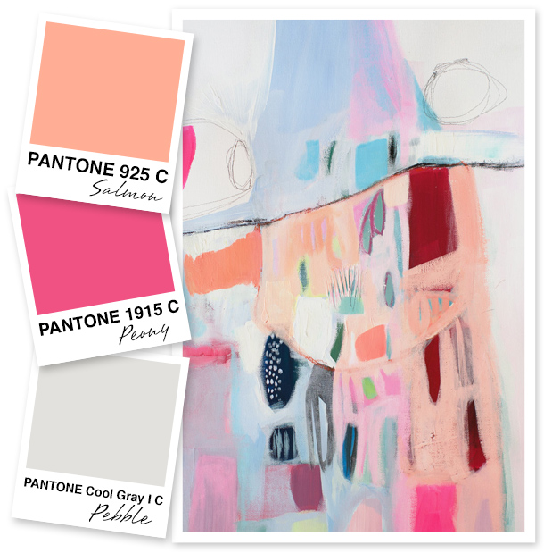 Salmon Pink Color Palette