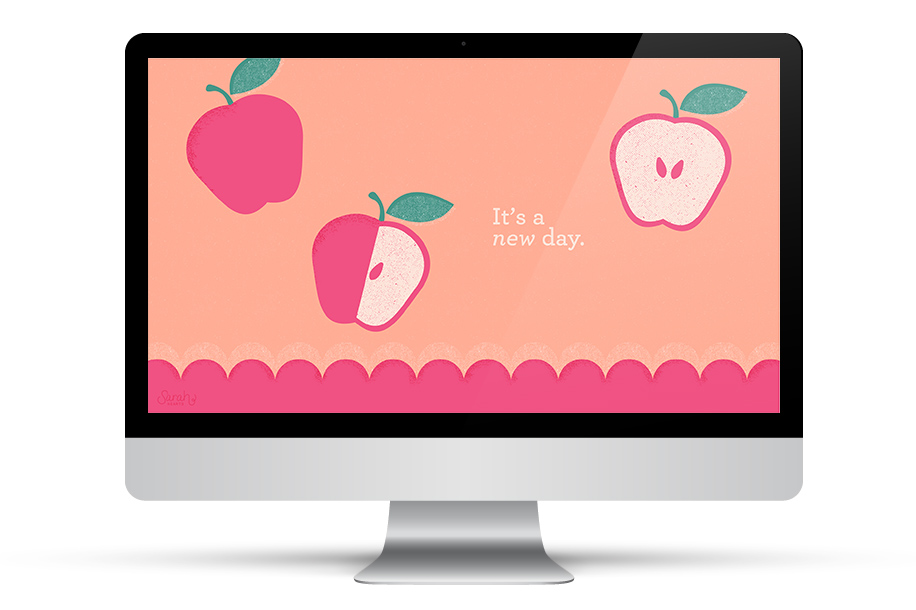 Let this adorable wallpaper inspire you! Download it for all your devices with this inspiring quote or with a calendar.