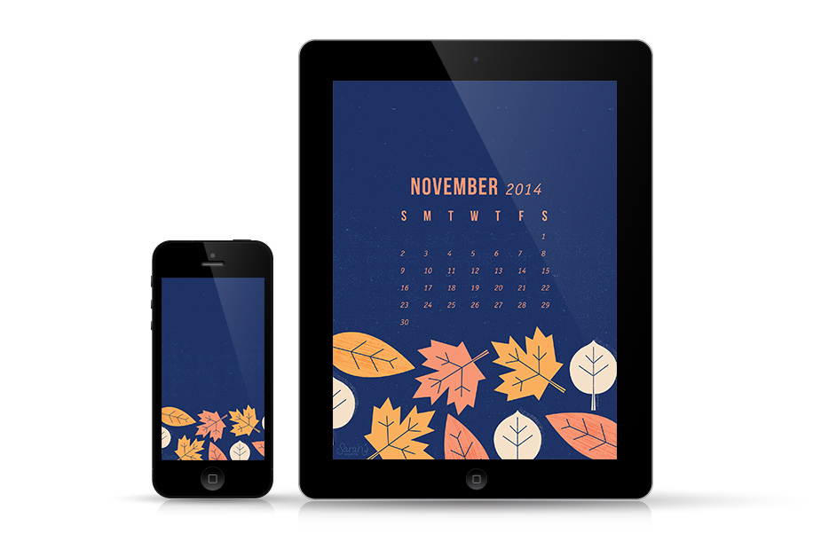 Get your iPhone and iPad ready for fall with this free wallpaper. Available for all devices both with and without a calendar.