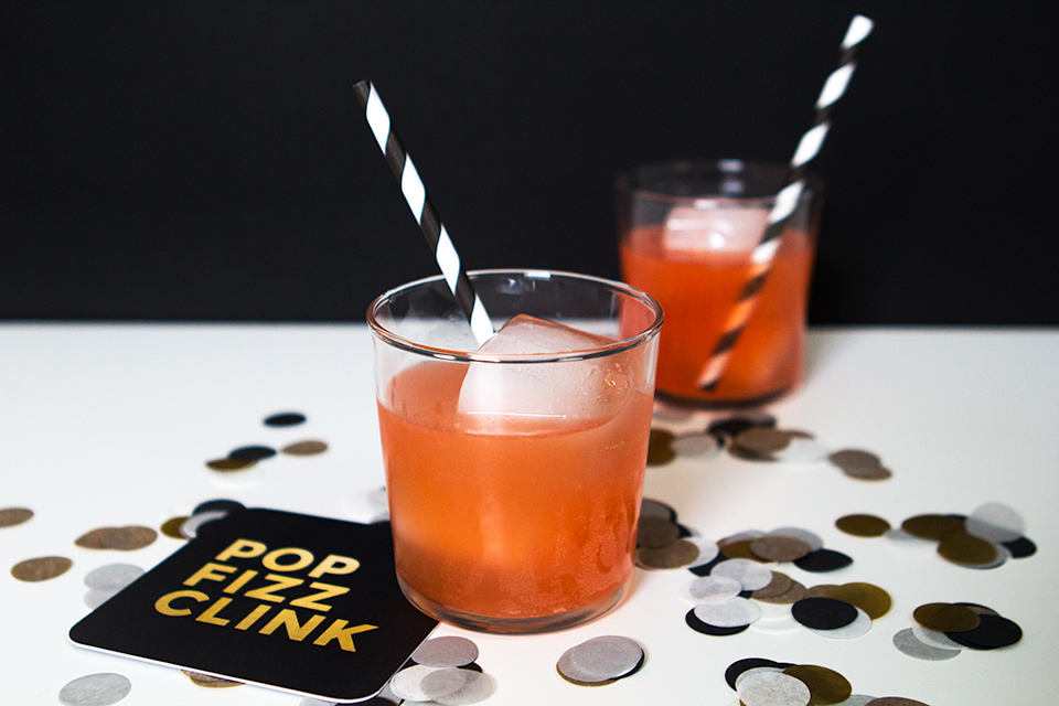 Pop Fizz Clink! Swap traditional champagne for this bright punch version this New Year's Eve.