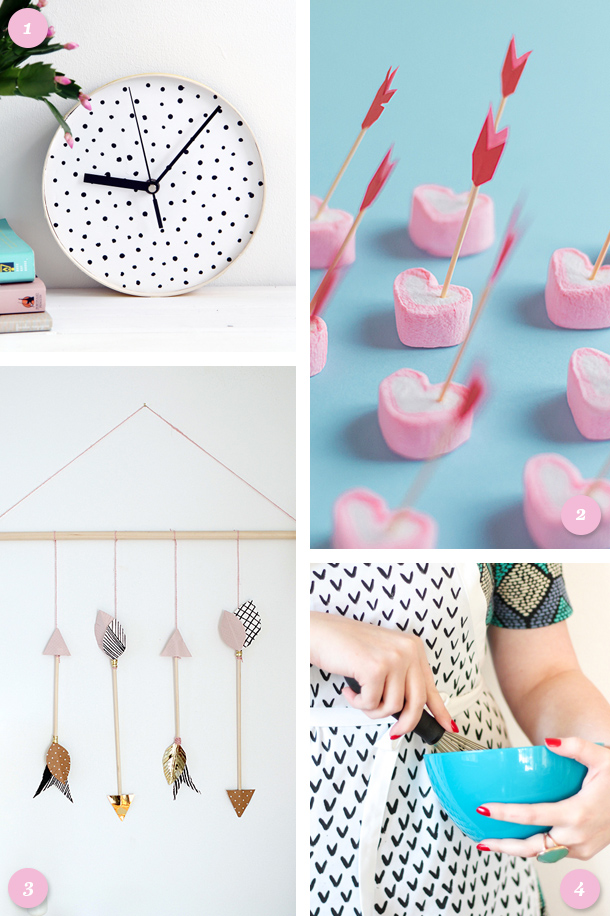Create something fun this weekend and try one of these Valentine's Day inspired DIY projects.