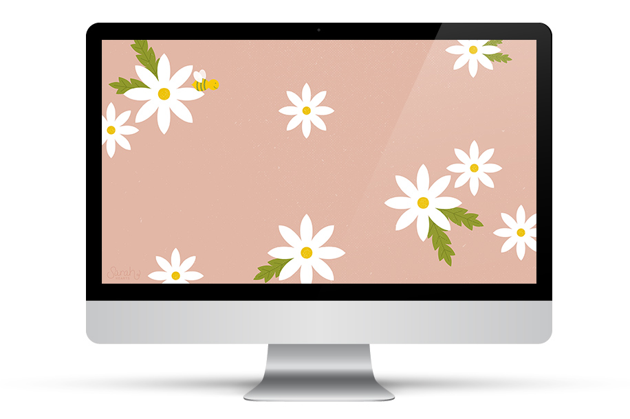 Add a touch of spring to your desktop with this free downloadable wallpaper. Click through to get it for all your devices.
