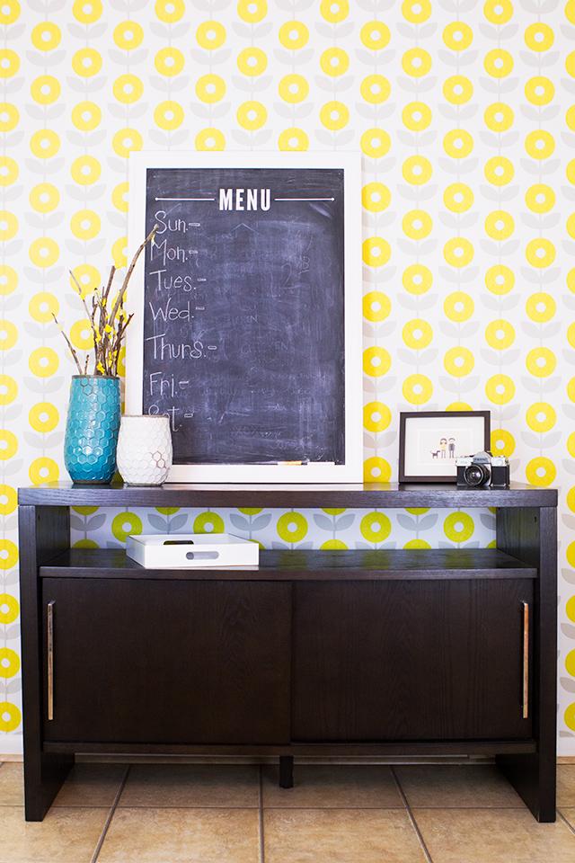 Sarah Hearts Removable Self Adhesive Wallpaper - Sarah Hearts