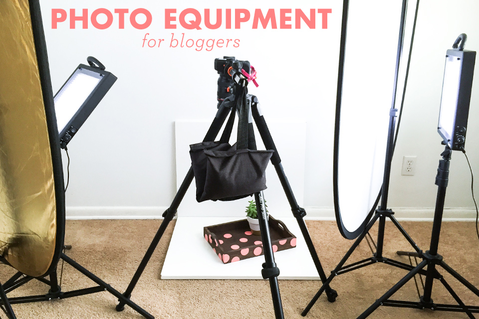 Don't let the weather or time of day keep you from shooting awesome blog photos. Sarah Hearts shares her favorite tools and tricks for taking great blog photos from home anytime.