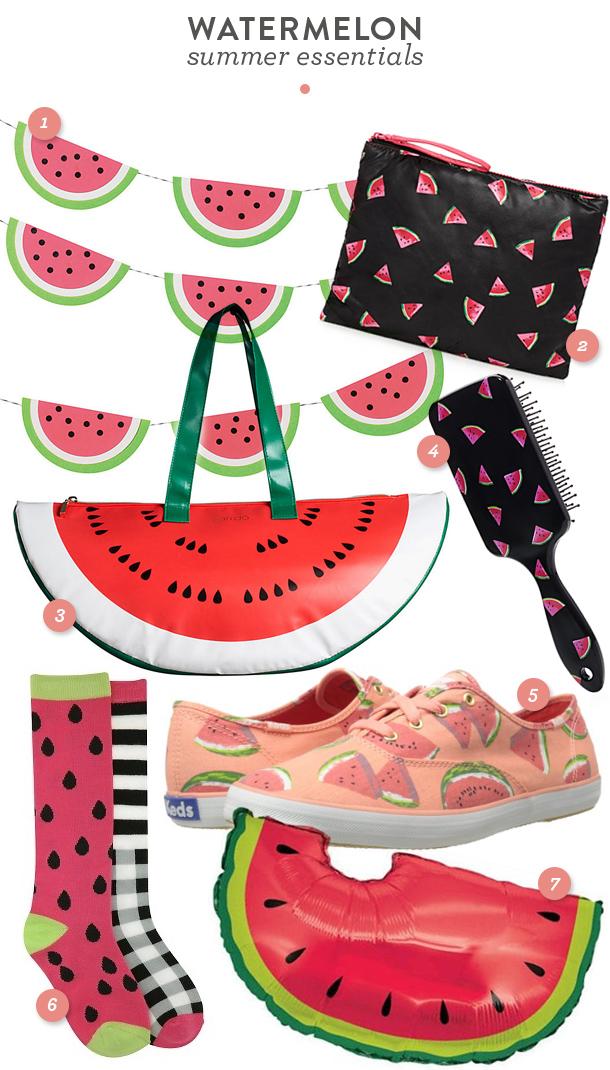 watermelon-summer-essentials
