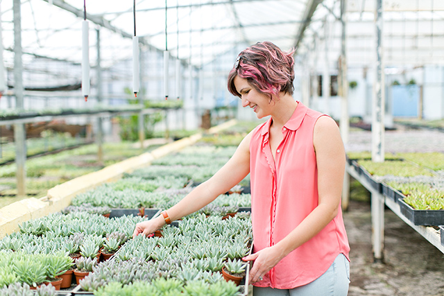 Blogger Sarah Hearts shares the details about this hidden gem in Orlando. A succulent only nursery!