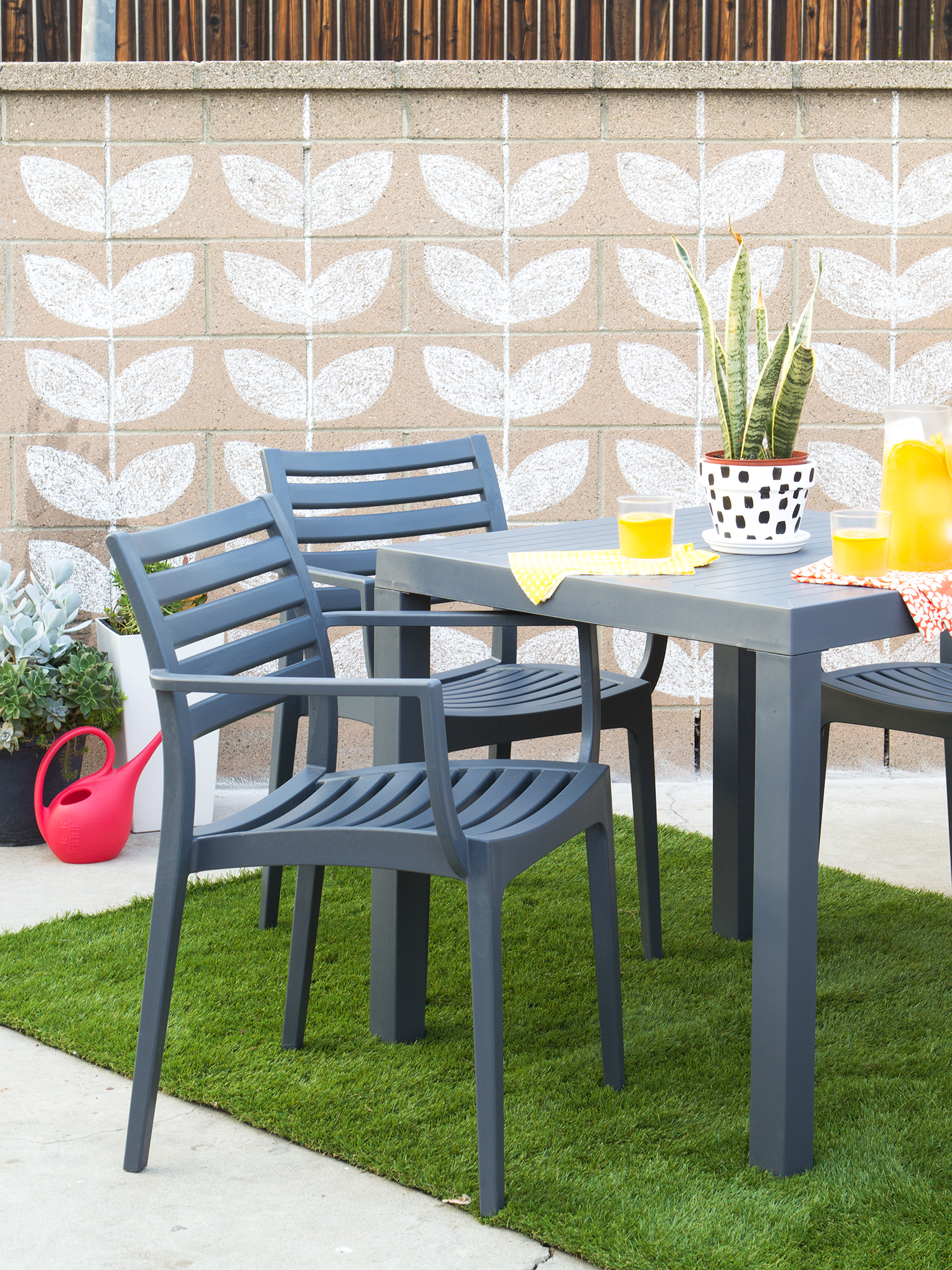 Add Color And Pattern To Your Small Patio To Transform It Into The Perfect  Entertaining Area