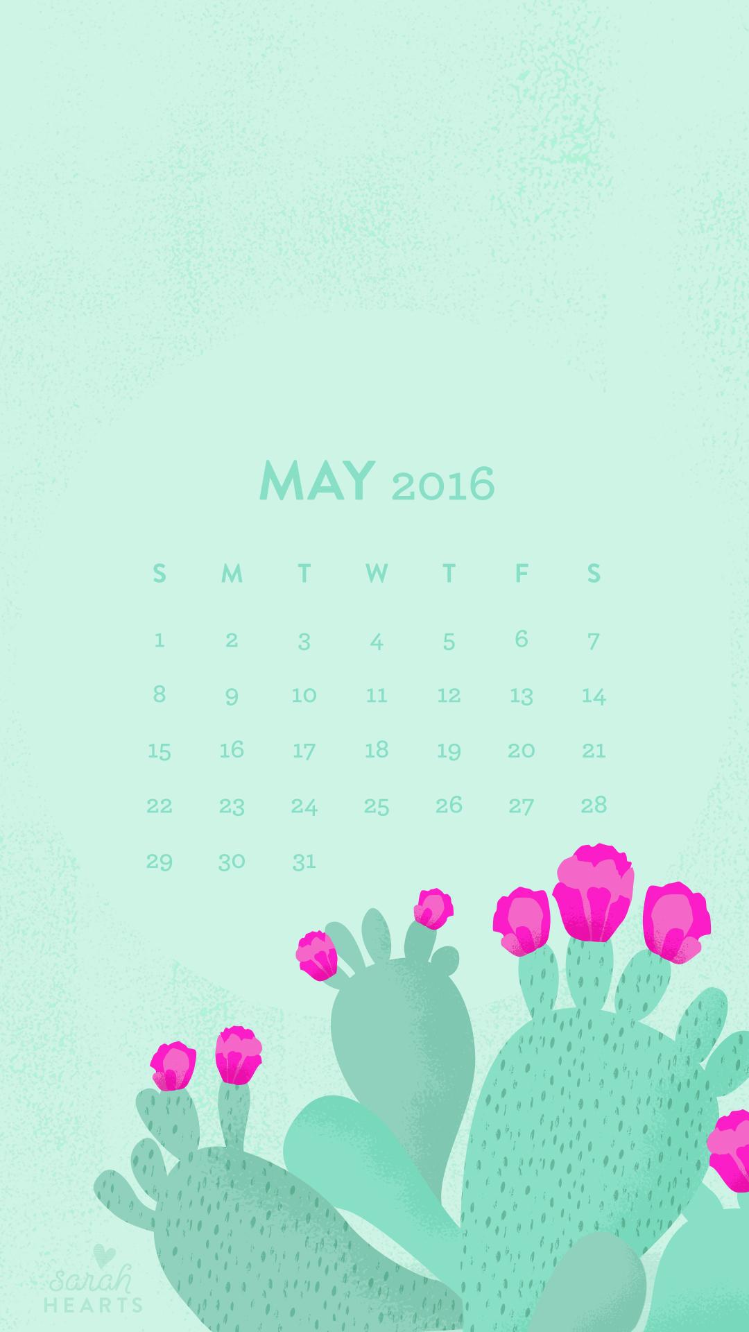 Tree Quote Wallpaper Mac May 2016 Cactus Calendar Wallpaper Sarah Hearts