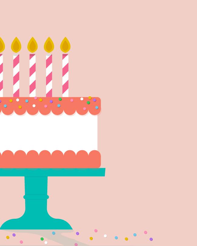 Cute Birthday Cake Wallpapers July 2016 Birthday Cake Calendar Wallpaper Sarah Hearts