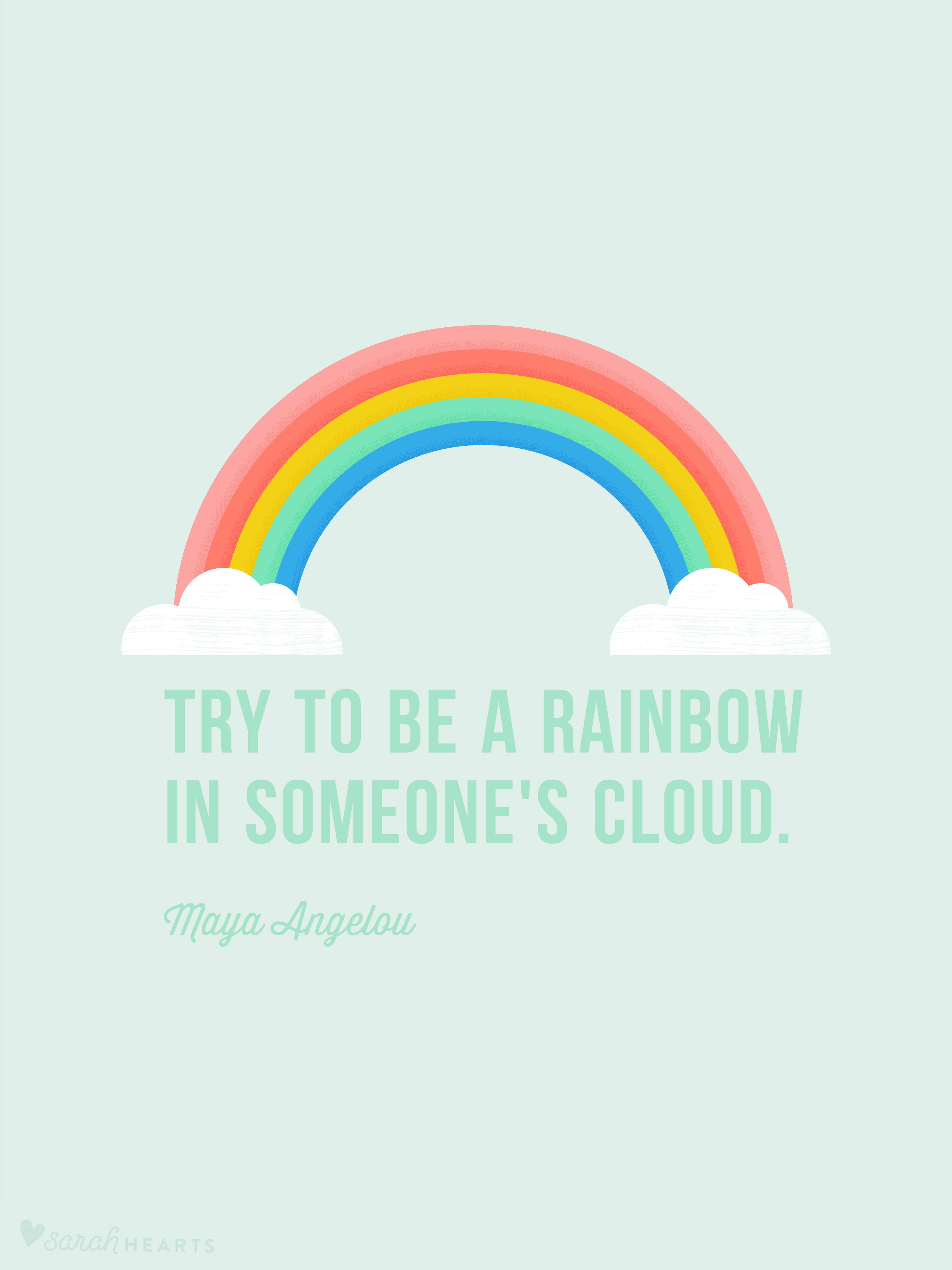 You Can Do It Quotes Wallpaper Rainbow March 2017 Calendar Wallpaper Sarah Hearts