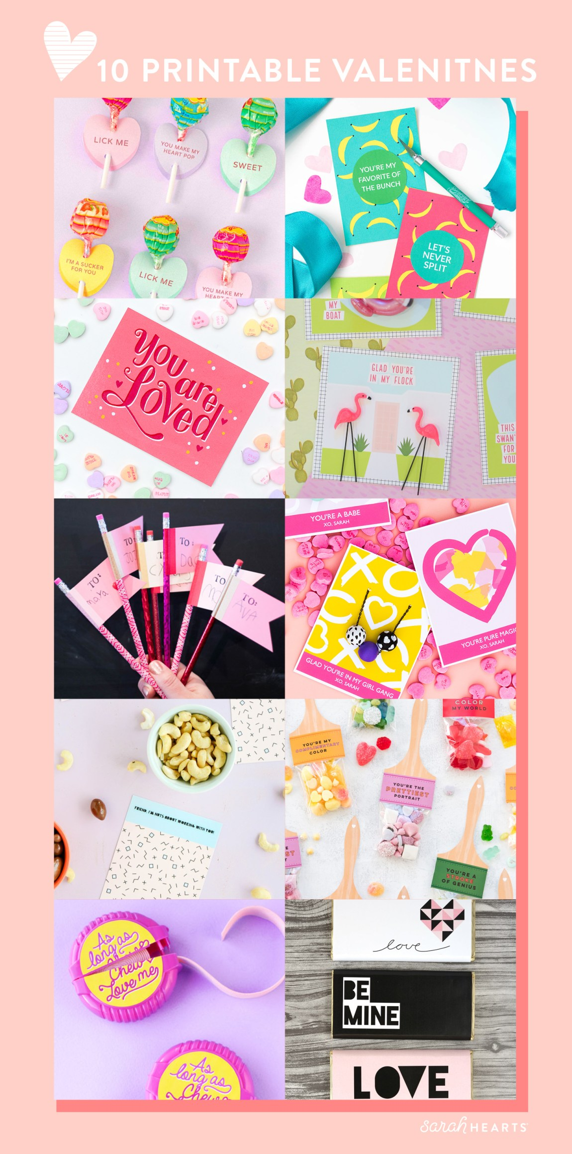 10 Best Free Printable Valentine S Day Cards Sarah Hearts