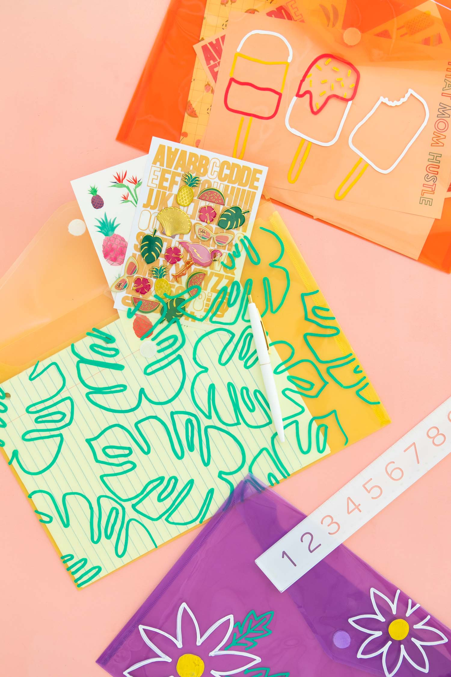 photograph about Printable Folders identified as Deliver colourful patterned pocket folders within minutes taking