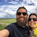 Stopping in Montana. Road trip to Canada