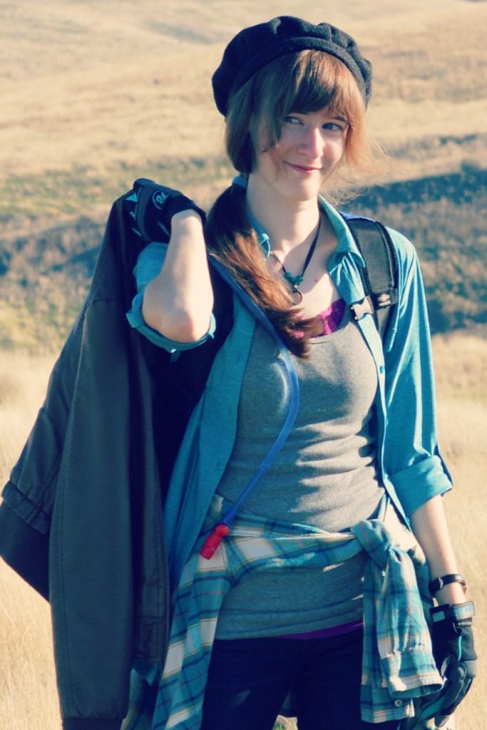 Hiker Shot