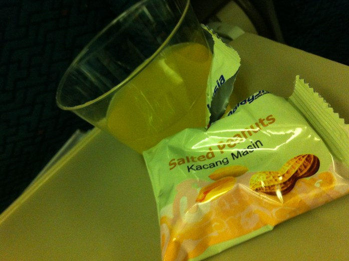 airline food snack
