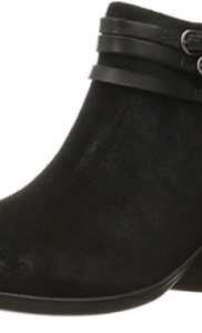 Clarks Black Ankle Booties