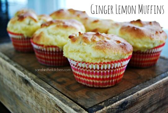 Ginger Lemon Muffin Blog