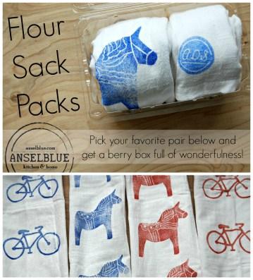 Flour Sack Packs