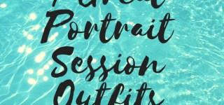 7 Great Portrait Session Ideas Graphic