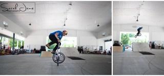 image of K-Rob Kevin Robinson riding BMX