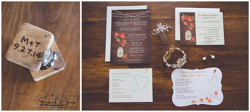 Image of Wedding Stationary and wedding rings