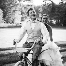 Wedding Getaway Tandem Bicycle