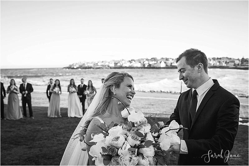 Danielle + Adam York Maine Wedding | Sarah Jane Photography