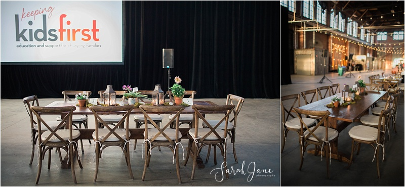 Bea & Company Event Planning at Bloom at Thompson's Point - a Kids First Center Fundraiser | Sarah Jane Photography