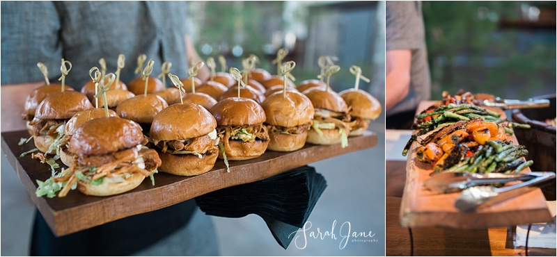 Fire and Co Catering at Thompson's Point at Bloom at Thompson's Point - a Kids First Center Fundraiser | Sarah Jane Photography