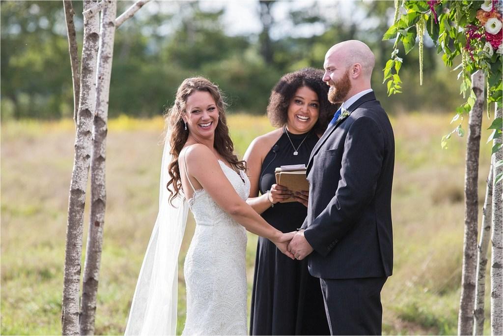 Wedding Ceremony Falmouth Maine Wedding Photographer