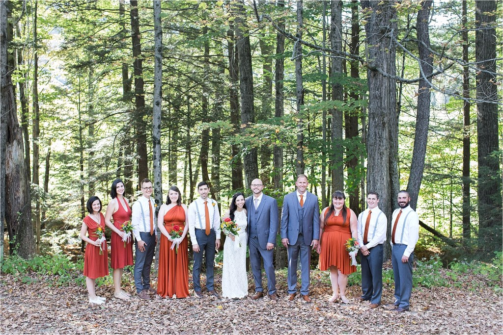 Stonewall Farm Keene NH Bridal Party
