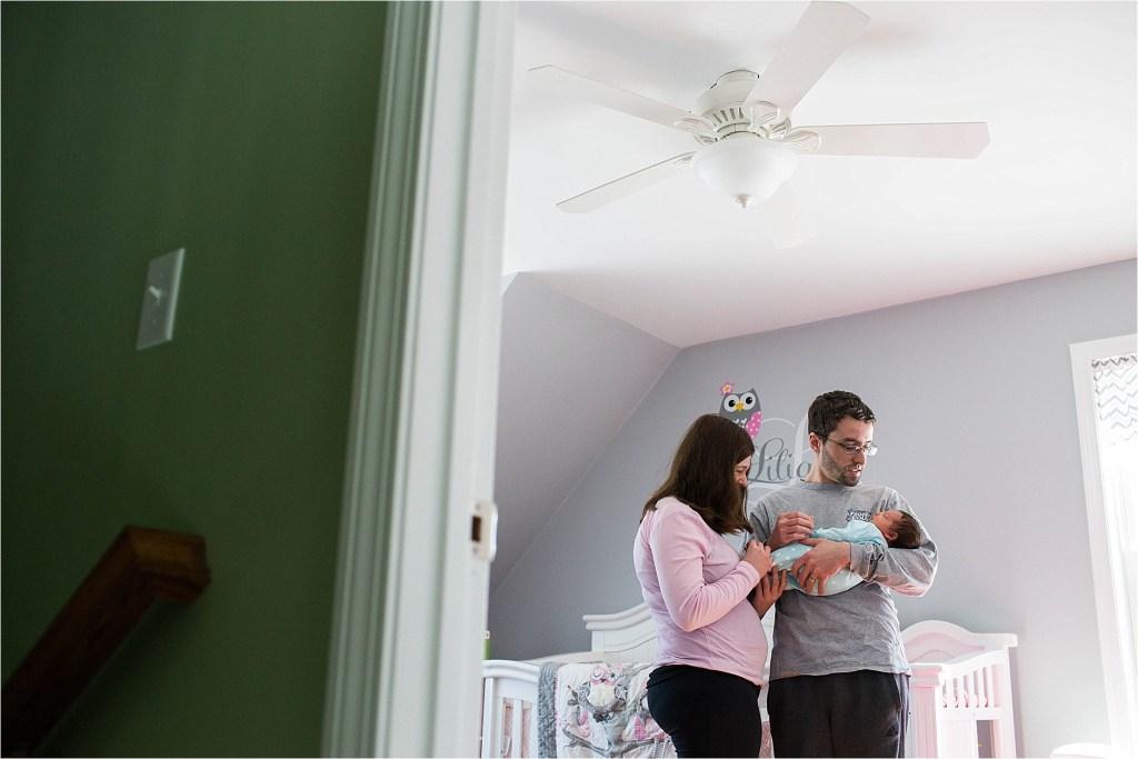 North Berwick Maine Newborn Session Maine Family Photographer