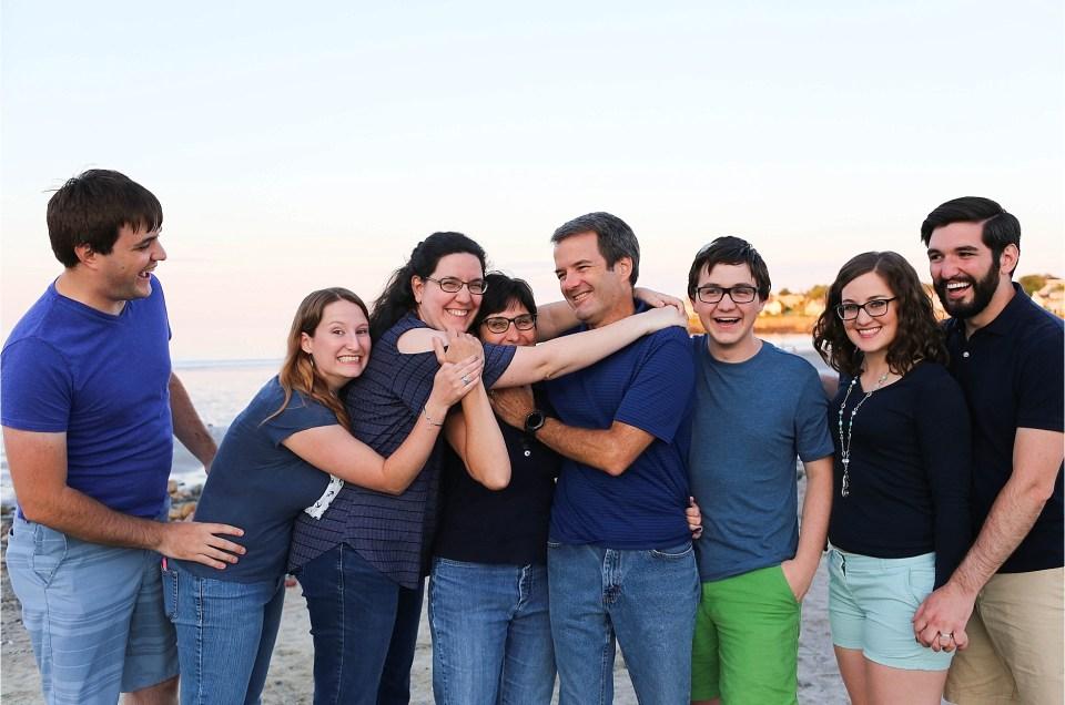 "Short Sands Beach Family Session | The ""B"" Family"