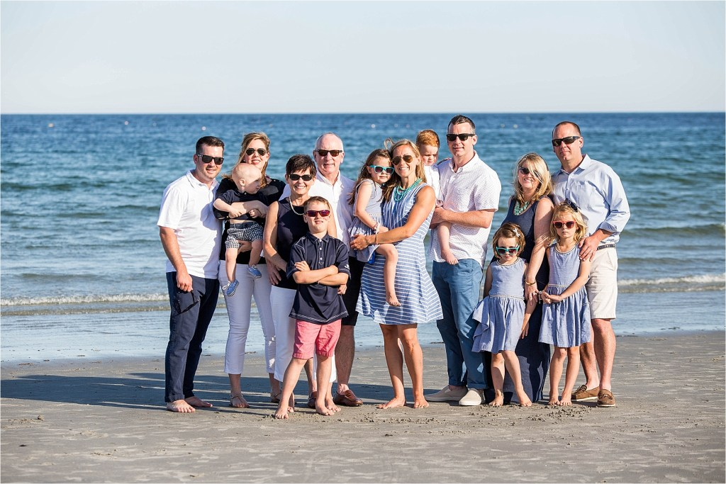 Goose Rocks Beach Kennebunkport Maine Family Photographer