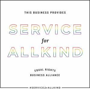 Service for All Kind, Gay Wedding Vendor