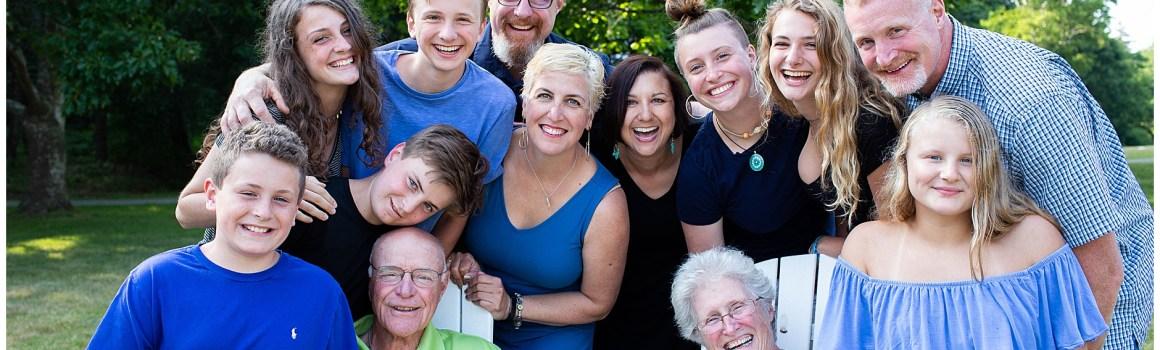 Phippsburg Maine Photographer | Stonehouse Manor Family Celebration