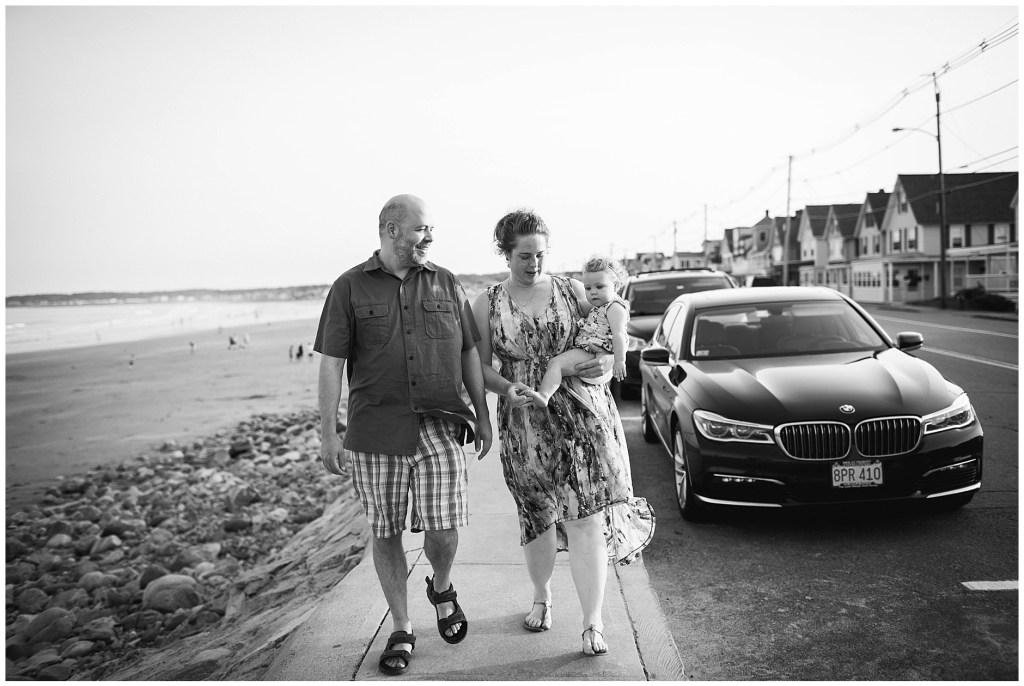 Walk along Long Sands Beach