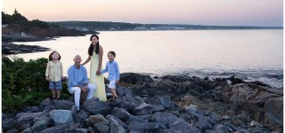 Ogunquit Maine Sunset Family Session