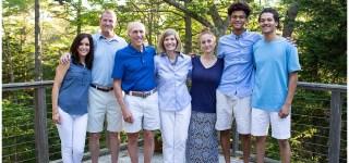 Phippsburg Maine Extended Family Portrait Maine