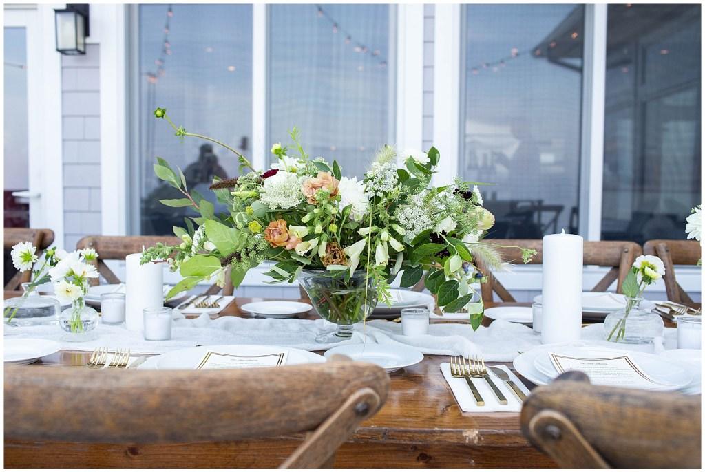 York Maine Wedding - Yellow Twist Florals