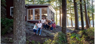 Family Summer Cabin on Damariscotta Lake Jefferson Maine