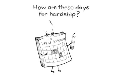 Embrace and Schedule Hardship for Happiness