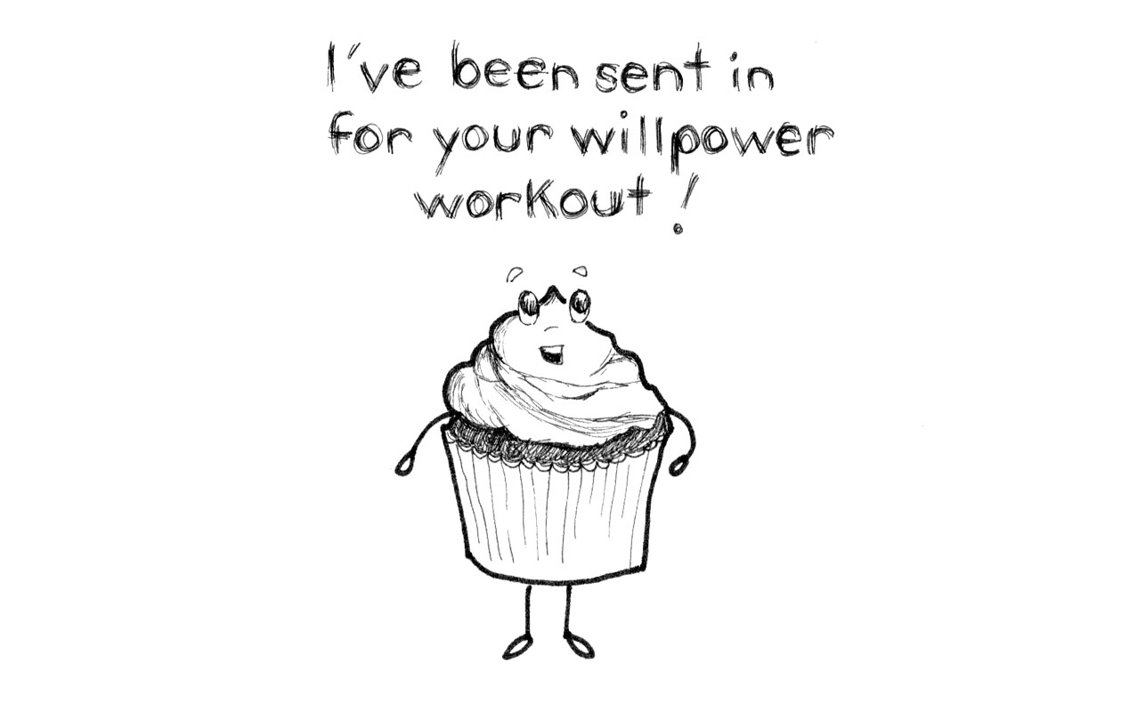 Here S A Way To Make Willpower A Bit Easier