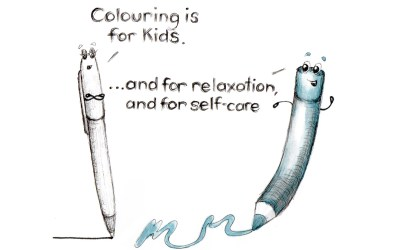 Colouring as Self-care – what a lovely way to spend some me-time!