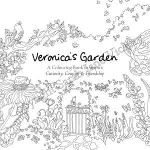 Veronica's Garden Colouring Book FREE PDF to colour