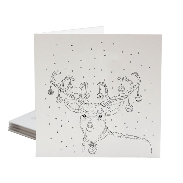colour your own christmas greeting cards by sarah jane vickery