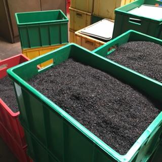 Sri Lanka Tea factory 1 crates